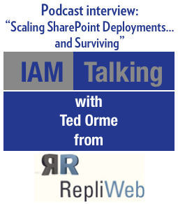 IAM Talking: Scaling SharePoint Deployments... and Surviving