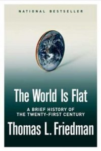 The World is Flat (cover) - Thomas L. Friedman