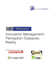 Innovation Management: Perception Outpaces Reality
